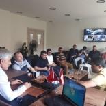 MEHMET YALÇıN - Sağlık-Sen'den AK Parti İdil İlçe Başkanı Ay'a Hayırlı Olsun Ziyareti