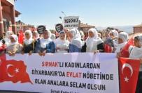 Şırnaklı Annelerden HDP Diyarbakır İl Binası Önünde Eylem Yapan Ailelere Destek
