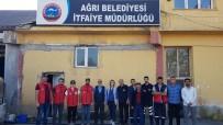 AKSAKAL - Ağrı Gençlik Merkezinden İtfaiye Müdürlüğü'ne Anlamlı Ziyaret