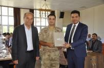 Arguvan İlçe Jandarma Komutanı Yusuf Soy İçin Veda Yemeği Verildi
