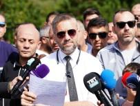 NEVZAT DEMİR - Beşiktaş Taraftarlarından Takıma Destek