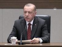 Cumhurbaşkanı Erdoğan'dan İstanbul'daki şiddetli depremle ilgili açıklama