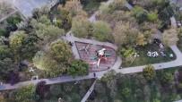 Depremin Ardından Parklara Akın Eden Vatandaşlar Havadan Görüntülendi