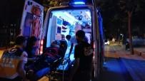 Gebze'de İki Otomobil Çarpıştı Açıklaması 1 Yaralı