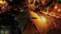 Güngören'de Parklarda Kalan Vatandaşlar Drone İle Görüntülendi