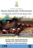 Halk Dansları Topluluğunda Kayıt Heyecanı
