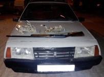 Otomobil Farıyla Tavşan Avlayanlara Suçüstü