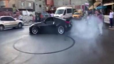 (Özel) İstanbul'da Cadde Ve Sokaklarda 'Drift' Terörü Kamerada