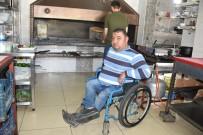 (Özel) Sporda Türkiye Derecesi Bulunan Engelli Birey Çalışmasıyla Da Herkese Örnek Oluyor