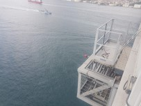 15 Temmuz Şehitler Köprüsü'ndeki Bakım Platformu Görüntülendi