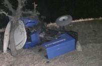 GÖZPıNAR - Adıyaman'da Traktör Kazası