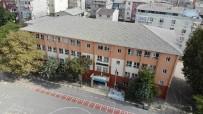 Büyükçekmece'de Eğitime Ara Verilen Okul Havadan Görüntülendi