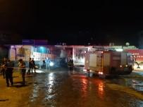 Cizre'de Yakıt Deposu Patlayan Tırın Sürücüsü Ağır Yaralandı