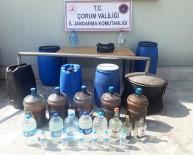 Jandarma'dan Kaçak İçkiye Geçit Yok
