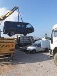 Körfez'deki Hurda Araçlar Kaldırılıyor