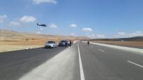 Korkuteli'nden Kumluca'ya Helikopter Destekli Trafik Uygulaması