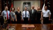 Uzlaştırmacılardan Başkan Ataç'a Ziyaret