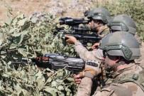 Yüksekova'da PKK'ya Ait Yaşam Malzemesi Ele Geçirildi