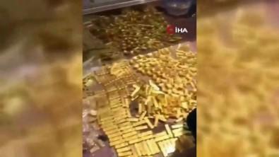 Başkanın evinde 13.5 ton altın bulundu