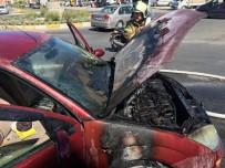 Kaçıran Benzin Hortumu Aracı Yaktı