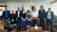 Kızılay Yönetiminden Rektör Çamsarı'ya Ziyaret