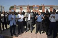 KURBAN KESİMİ - Polislerin Kazadan Ve Beladan Korunması İçin Kurban Kesildi