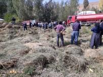 Yüksekova'da Yangın; Bin 500 Bağ Ot Yandı