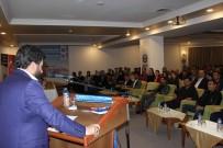 MUSTAFA KARATAŞ - Erzurum Eğitim-Bir-Sen İş Yeri Temsilcileriyle Bir Araya Geldi