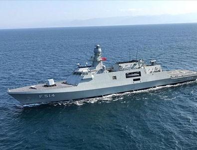Milli savaş gemisi Kınalıada Deniz Kuvvetleri'ne teslim ediliyor