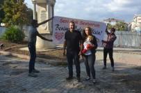 MEHMET ÇIFTÇI - Şantiyede Drone İle Sürpriz Evlilik Teklifi