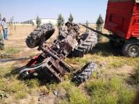 Aksaray'da Tır Traktöre Çarptı Açıklaması 2 Yaralı