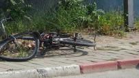 KOZLUCA - Bisiklet Sürücüsü Ölümden Döndü