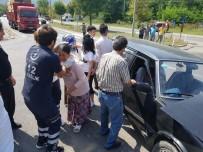 Devrek'te Trafik Kazası Açıklaması 3 Yaralı