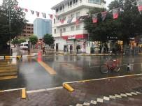 Iğdır'da Sıcak Hava Yerini Yağmura Bıraktı