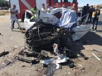 Kahramanmaraş'ta Kamyon İle Otomobil Çarpıştı Açıklaması 1 Ölü