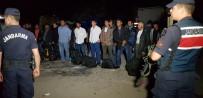 Karabük Çöplüğünde 22 Kaçak Göçmen Yakalandı