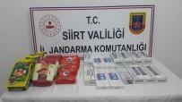Siirt'te Kaçak Sigara Ve Kaçak Çay Ele Geçirildi