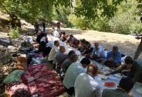 DAĞLıCA - Yüksekova Dağlıca'da 400 Kişilik Piknik Keyfi