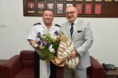 Başkan Ergün'den Yeni Komutan 'Hoş Geldin' Ziyareti
