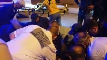 Düzce'de Motosikletle Ticari Taksi Çarpıştı Açıklaması 2 Yaralı