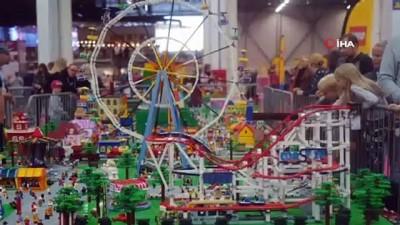 Finlandiya'da Lego Festivali Renkli Görüntüler Oluşturdu