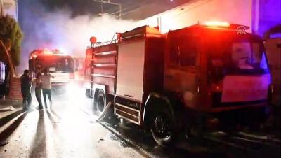 Gaziantep'te İplik Atölyesinde Yangın
