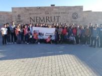 NEMRUT DAĞI - Genç TEMA, Ören Yerlerinde Temizlik Yaptı