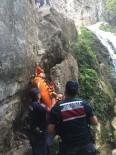 (ÖZEL) Şelaleden Düşen Turist Ölümden Döndü