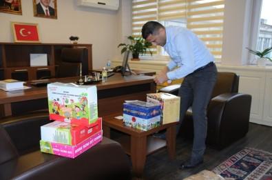 Samsun Büyükşehir Belediyesinden Eren Bülbül Anısına Kitap Bağışı