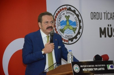 TOBB Başkanı Hisarcıklıoğlu Açıklaması 'Karadeniz-Akdeniz Yolu Ordu'yu Orta Doğu'ya Bağlayacak'