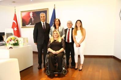 Türkiye Sakatlar Derneği'nden Başkan Çerçioğlu'na Ziyaret