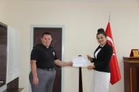 Aksaray'da İlçenin Özel Fahri Bekçisine Başarı Belgesi Verildi