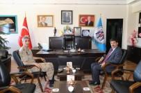 Aksoylu'dan Başkan Aksun'a Veda Ziyareti