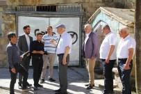 Başkan Pekmezci, Tuzcuzade Mahallesinde İncelemelerde Bulundu